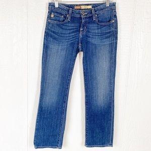 Big Star Rikki Low Rise Straight Leg Blue Jeans